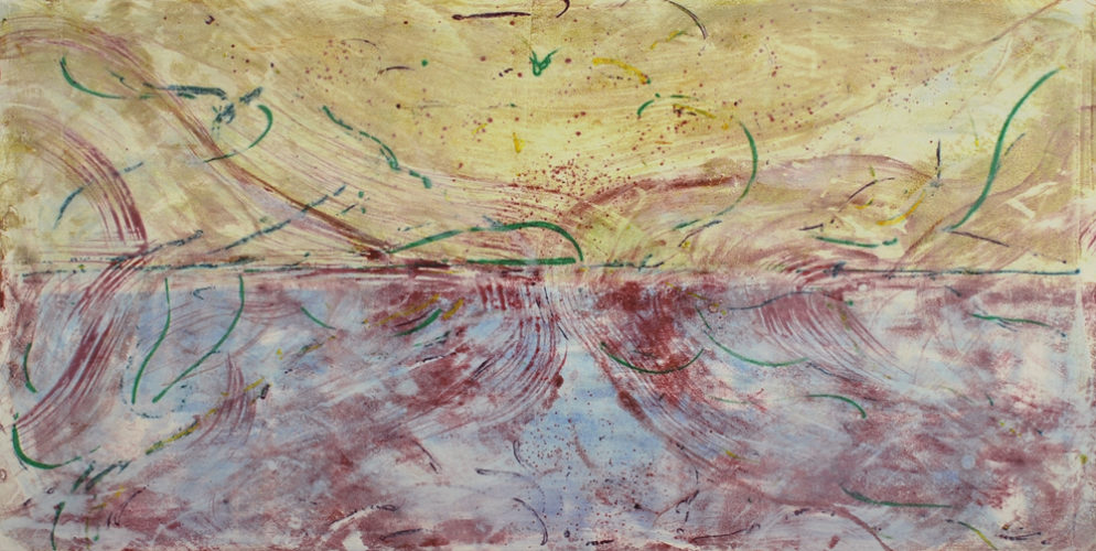 Every Breaking Wave #13 by Deborah Freedman at