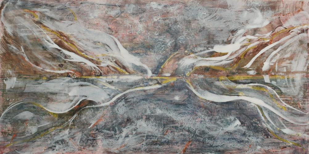 Every Breaking Wave #11 by Deborah Freedman at