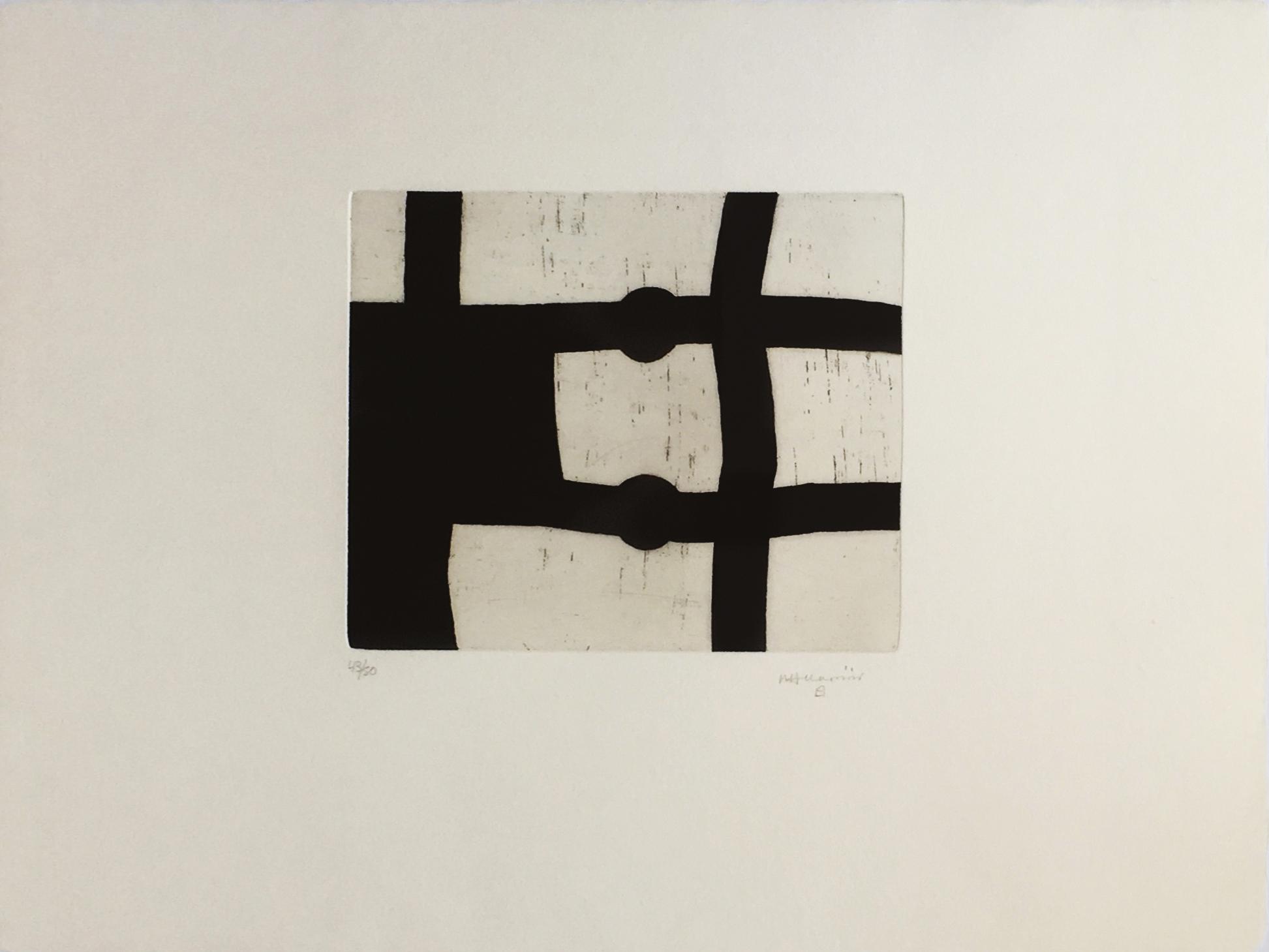 'untitled' (menturatu) by Eduardo Chillida