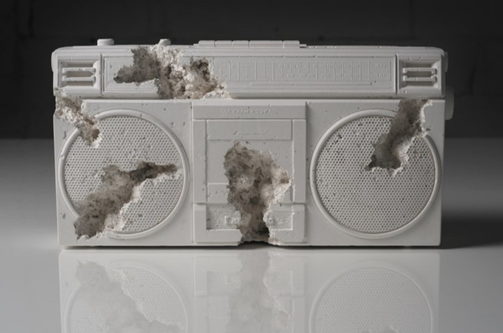 Future Relic 08 (radio) by Daniel Arsham