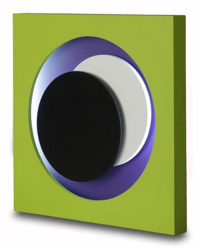Cercles Vert by Genevieve Claisse