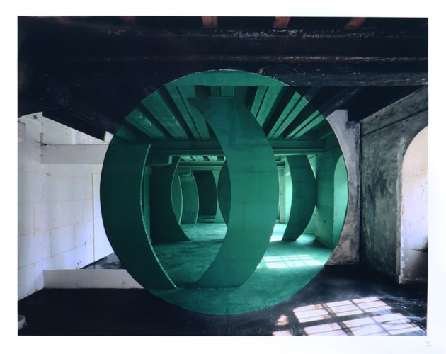 Metz (1994) by Georges Rousse at