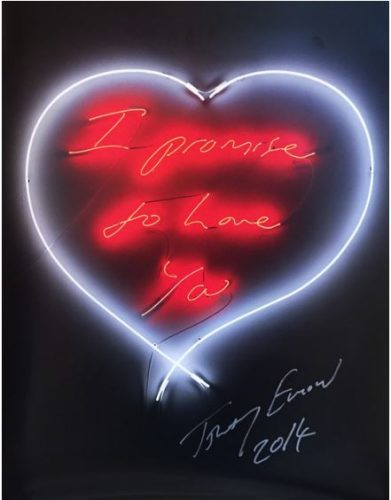 I Promise To Love You by Tracey Emin at Lougher Contemporary