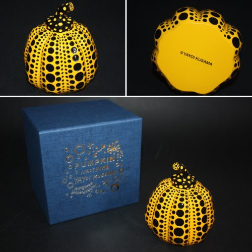 Pumpkin (yellow And Black) by Yayoi Kusama at Lougher Contemporary