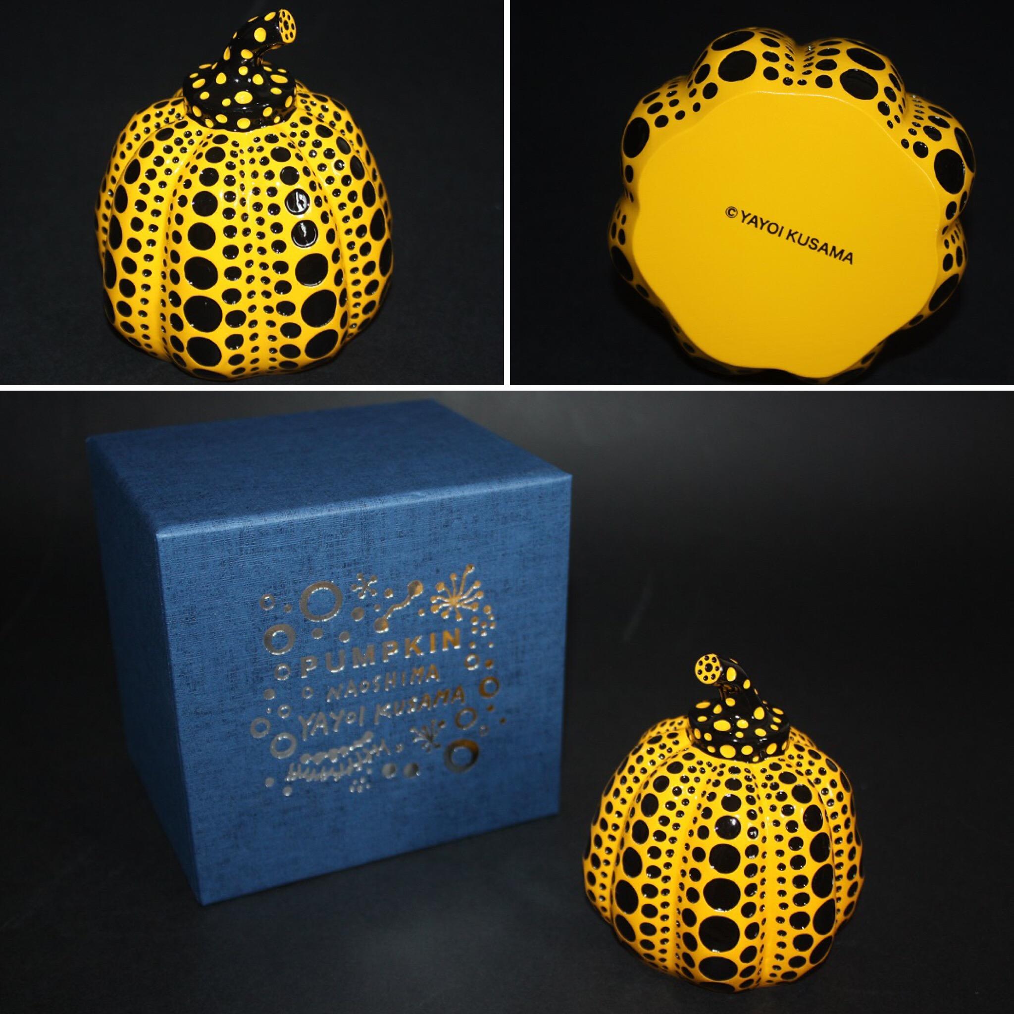 Pumpkin (yellow And Black) by Yayoi Kusama
