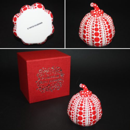 Pumpkin (red And White) by Yayoi Kusama at Lougher Contemporary
