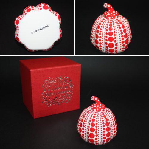 Pumpkin (red And White) by Yayoi Kusama
