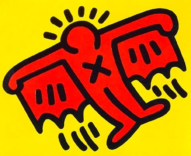 X-man From Icons by Keith Haring