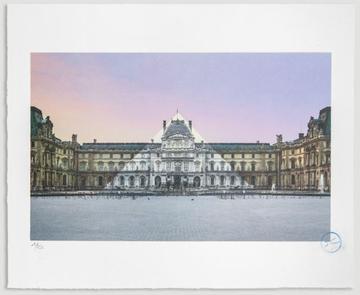 Au Louvre, La Pyramide, 12 Juin 2016, 5h55 © Pyramide, Architecte I. M. Pei, MusÉe Du Louvre, Paris,... by JR at JR