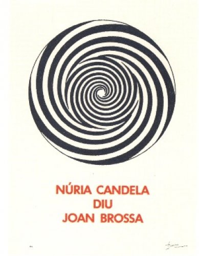 A.l. Núria Candela by Joan Brossa at