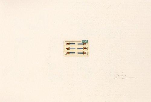 Portfolio 12th Anniversary Of Galeria Joan Prats by Joan Brossa