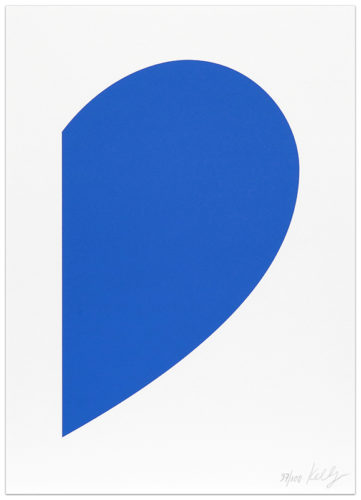 Small Blue Curve by Ellsworth Kelly
