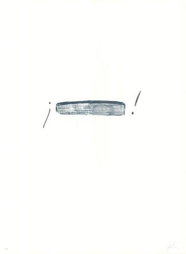 Llambrec-4 by Antoni Tapies