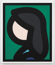 Paper Head 6 by Julian Opie