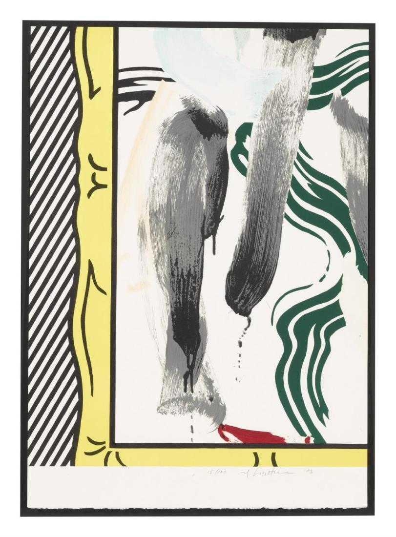 Against Apartheid by Roy Lichtenstein
