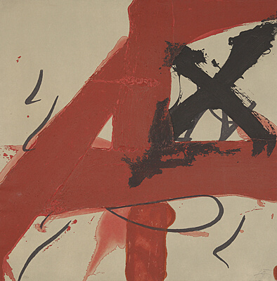 A 4 by Antoni Tapies