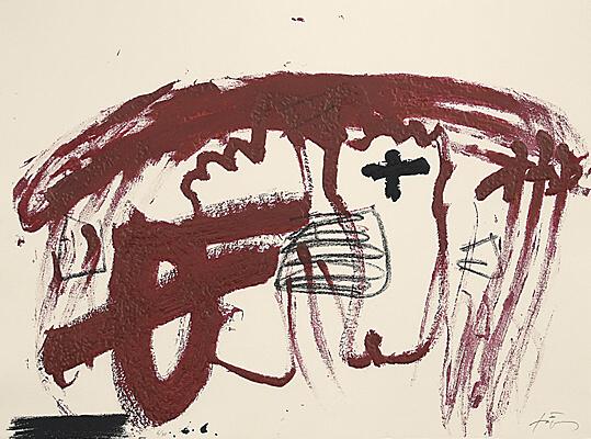 Carmí 6 by Antoni Tapies