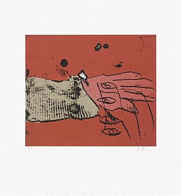 Quatre Ulls by Antoni Tapies