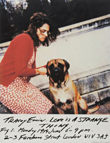 Love Is A Strange Thing by Tracey Emin at Tracey Emin