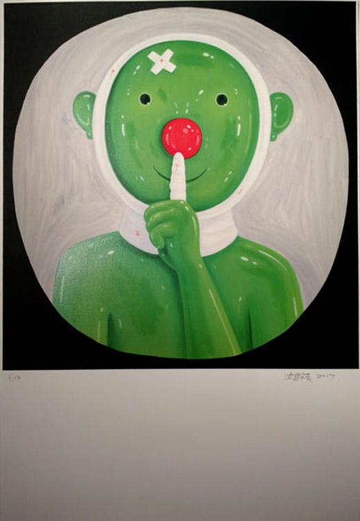 Homage To Bertolt Brecht 2 by Shen Jingdong