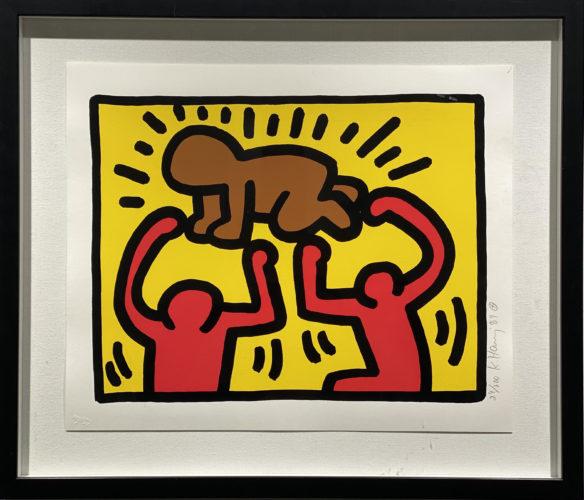 Pop Shop I V – D by Keith Haring at