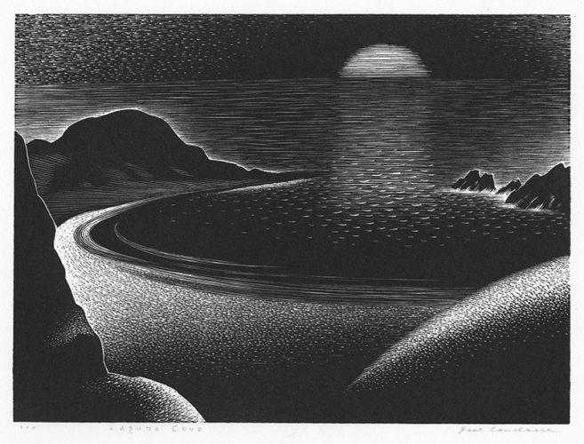 Laguna Cove (california) by Paul Landacre