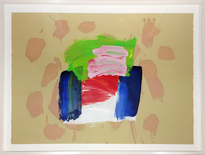 Ice Cream (from After All) by Howard Hodgkin