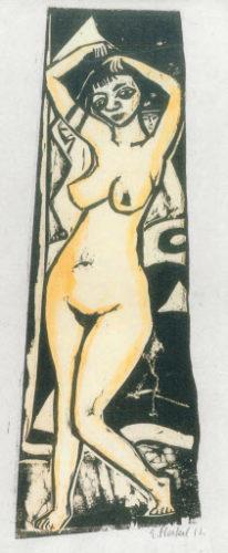 Stehende by Erich Heckel at Galerie Henze & Ketterer & Triebold