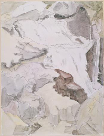 Bergbach by Erich Heckel at Galerie Henze & Ketterer & Triebold