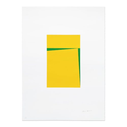 Untitled (2018) by Carmen Herrera at