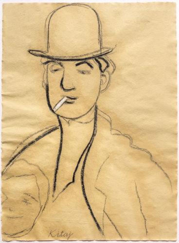 Jules Pascin by R.B. Kitaj at Leslie Sacks Gallery (IFPDA)