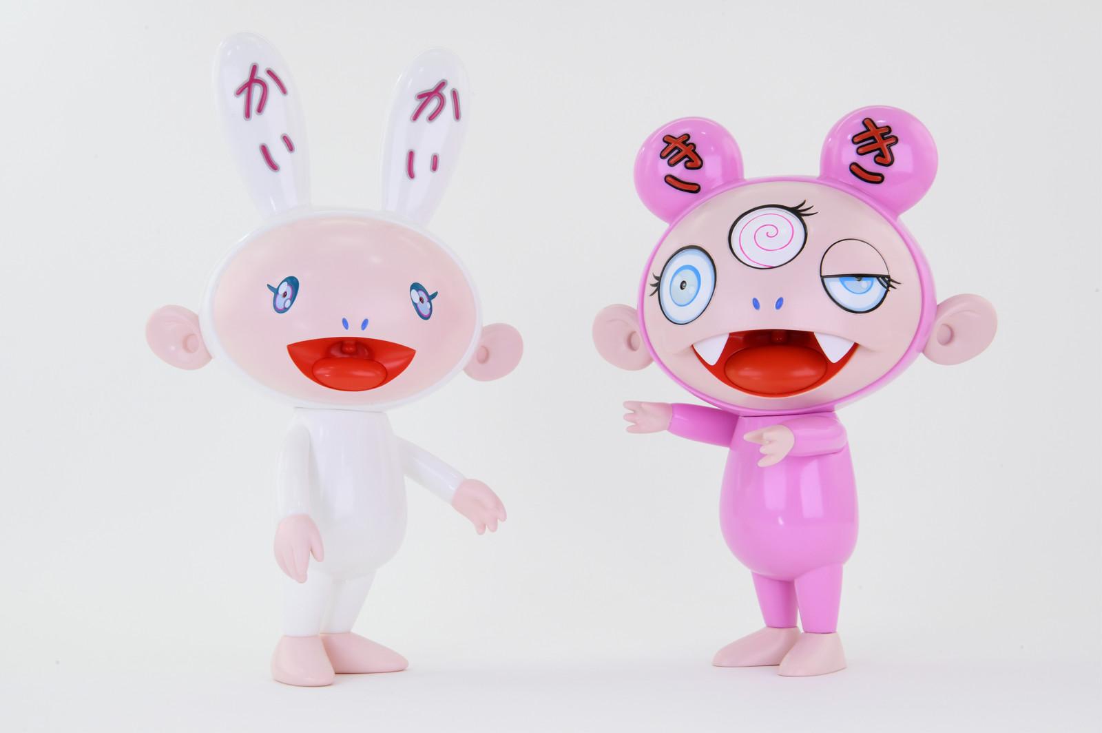 Kaikai & Kiki Set (blue Eyes) by Takashi Murakami