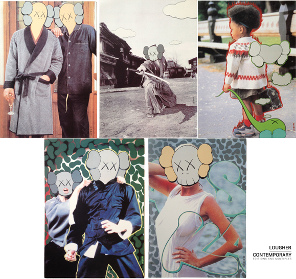 Kaws X Undercover Set (five Works) by KAWS