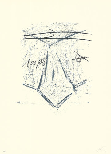 Llambrec-12 by Antoni Tapies