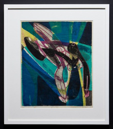 Falling Figure by Stanley William Hayter at