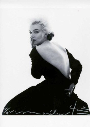 Marilyn, Dior Dress Ii by Bert Stern at Bert Stern