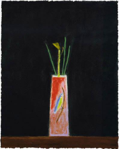 Still Life With Bird Vase by Craigie Aitchison at
