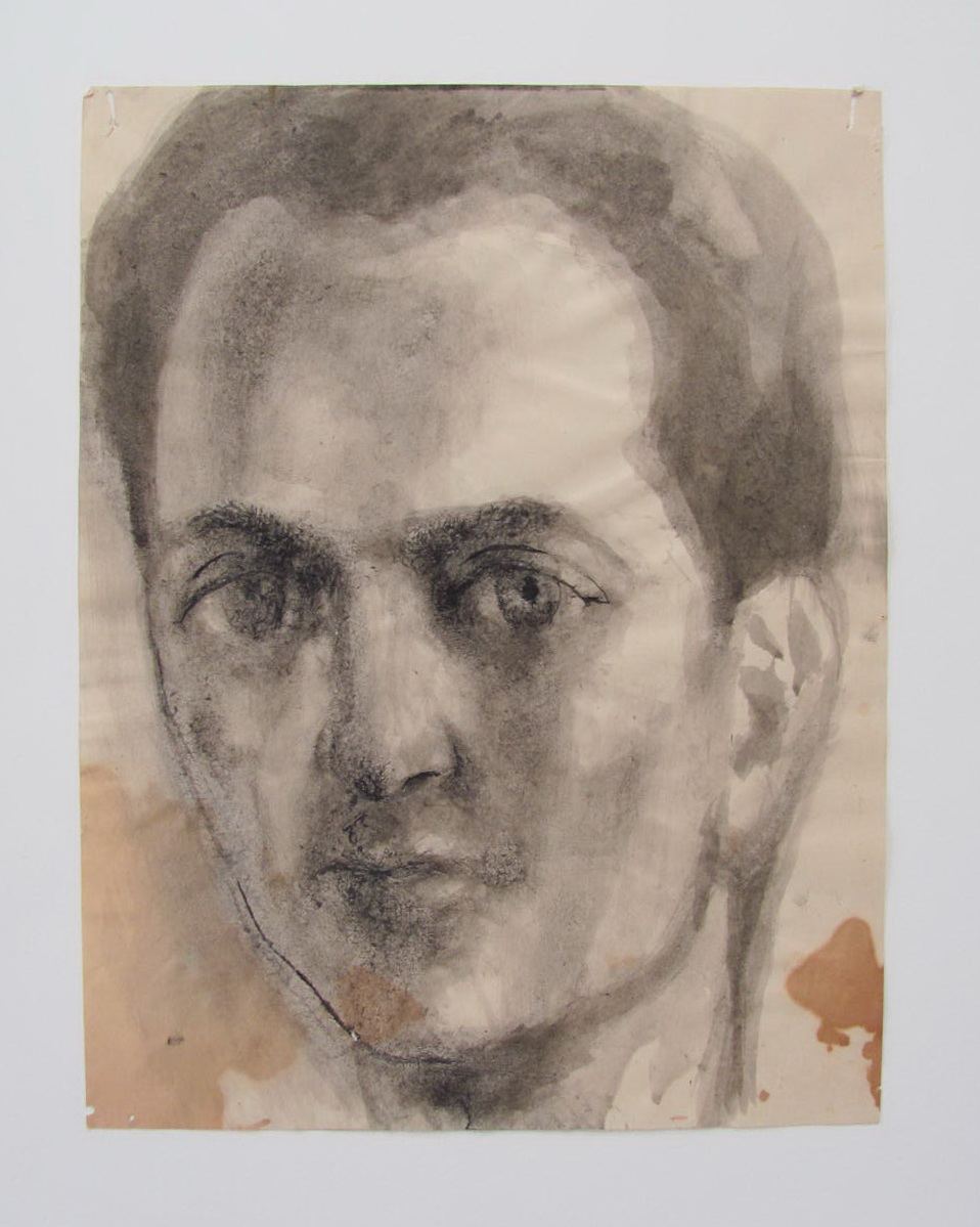Untitled Portrait Head (1) by Pavel Tchelitchew
