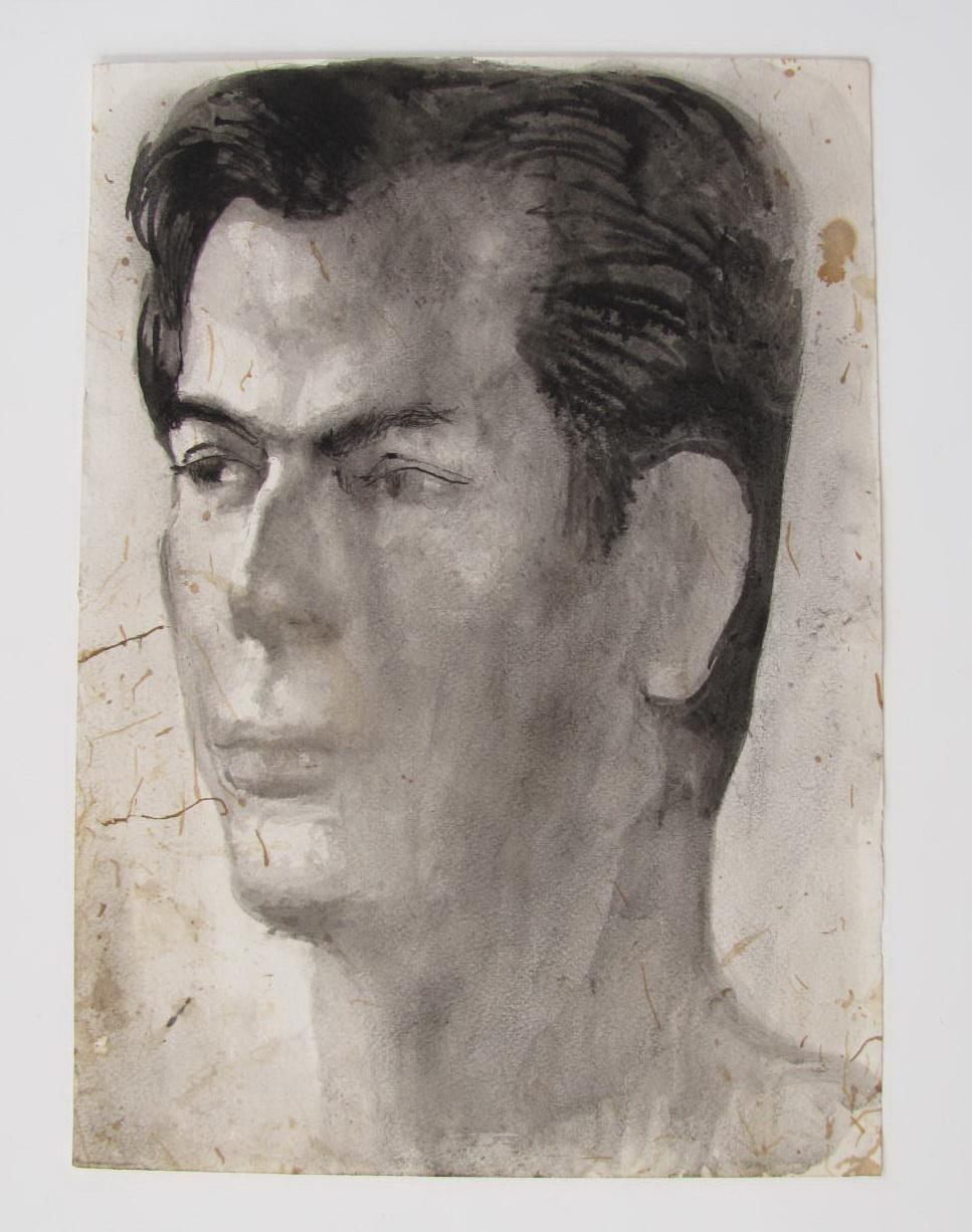 Untitled Portrait Head (2) by Pavel Tchelitchew