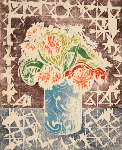 The Turquoise Vase by William Tillyer at