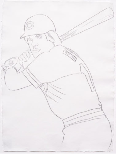 Reds – Pete Rose 1 by Andy Warhol at