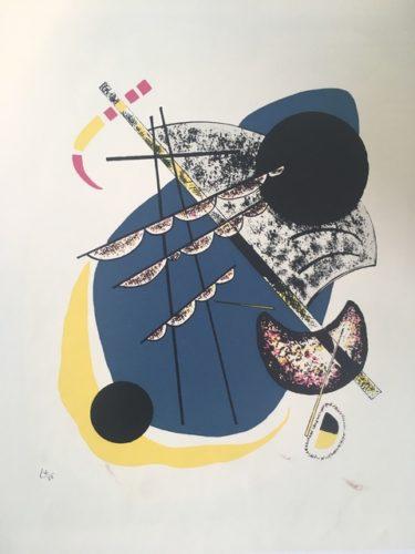 Kleine Welten Ii (little Worlds Ii) by Wassily Kandinsky at