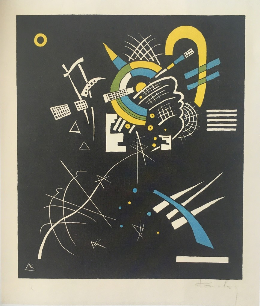 Kleine Welten Vii (little Worlds Vii) by Wassily Kandinsky