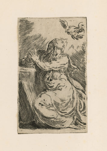 The Annunciation by Francesco Mazzola (Parmigianino)