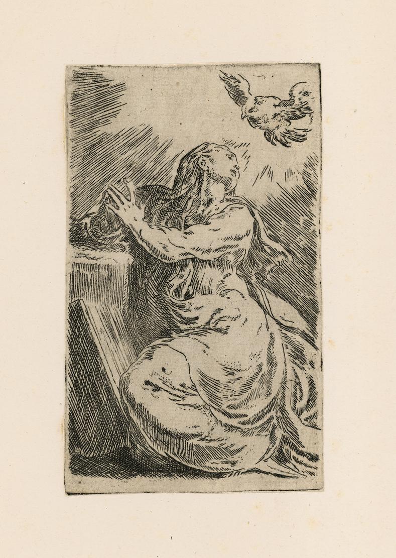 The Annunciation by Francesco Mazzola (Parmigianino)