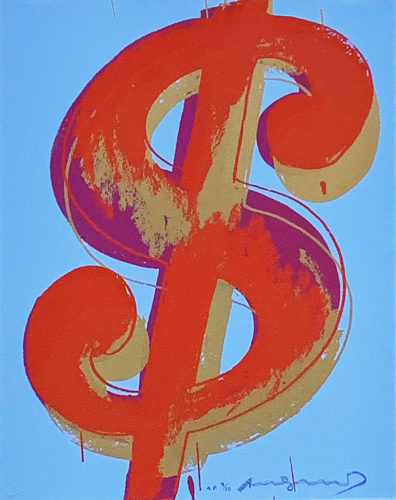 $ (1) 277 by Andy Warhol