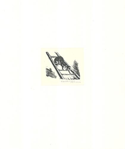 Auf Der Leiter by Walther Klemm
