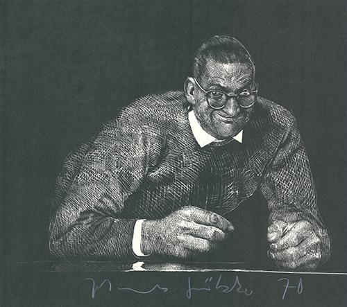 Selbstportrait Ii by Johannes Grützke at