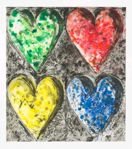 Watercolor In Galilee by Jim Dine at Galerie d'Orsay