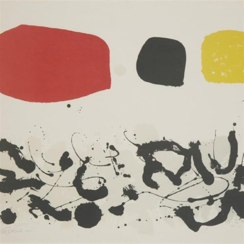 Germination Iii by Adolph Gottlieb at Adolph Gottlieb